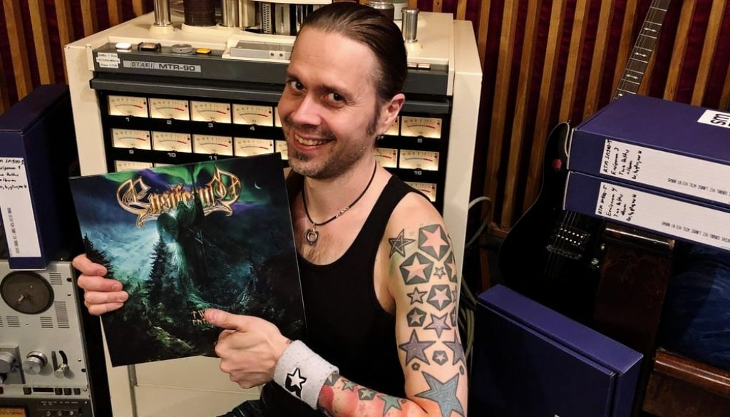 How Ensiferum ended up recording Two Paths on tape at Astia-studio
